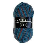 Zitron Wolle der Sorte Trekking-4-fach-Color in der Farbe 591