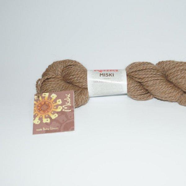 Katia Wolle der Sorte Miski in der Farbe Mittelbraun