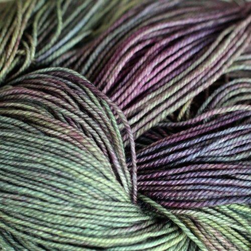 Malabrigo Wolle der Sorte Sock in der Farbe Zarzamora