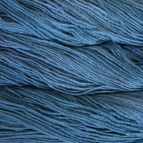 Malabrigo Wolle der Sorte Worsted in der Farbe Bijou-Blue