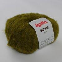Katia Wolle der Sorte Bruma in der Farbe Moosgrün