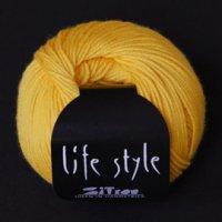 Zitron Wolle der Sorte Lifestyle in der Farbe gelb