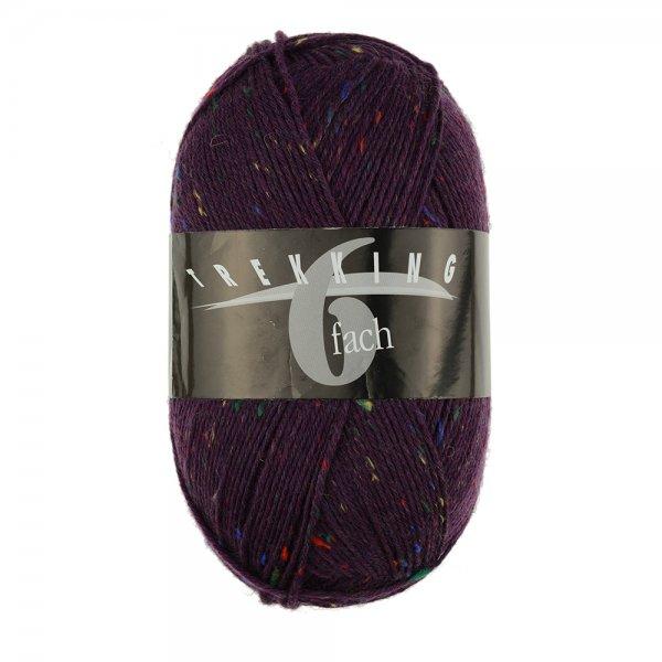 Zitron Wolle der Sorte Trekking-6-fach-Tweed in der Farbe 1879