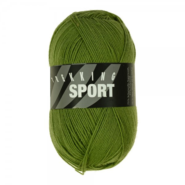 Zitron Wolle der Sorte Trekking-Sport in der Farbe Grasgrün (1415)