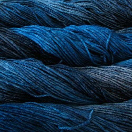 Malabrigo Wolle der Sorte Rios in der Farbe Bobby-Blue