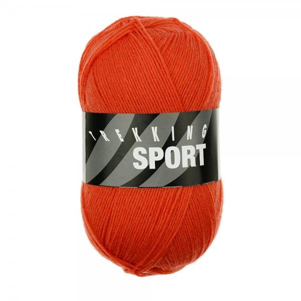 Zitron Wolle der Sorte Trekking-Sport in der Farbe Orangerot (1491)