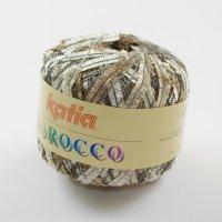 Katia Wolle der Sorte Morocco in der Farbe Braun-Beige-Weiß