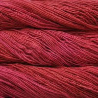 Malabrigo Wolle der Sorte Worsted in der Farbe Sealing-Wax