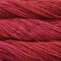 Malabrigo Wolle der Sorte Worsted in der Farbe Sealing-Wax