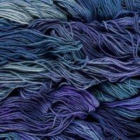 Malabrigo Wolle der Sorte Rios in der Farbe Azules
