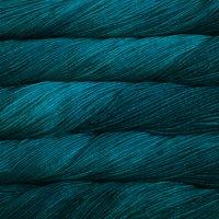 Malabrigo Wolle der Sorte Arroyo in der Farbe Greenish Blue