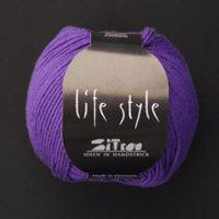 Zitron Wolle der Sorte Lifestyle in der Farbe lila