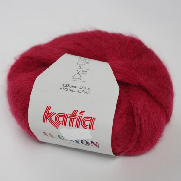 Katia Wolle der Sorte Ilusion in der Farbe Granate