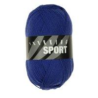 Zitron Wolle der Sorte Trekking-Sport in der Farbe Mittelblau (1405)