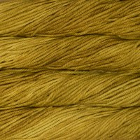 Malabrigo Wolle der Sorte Chunky in der Farbe Frank Ochre
