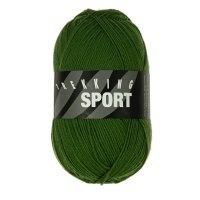 Zitron Wolle der Sorte Trekking-Sport in der Farbe Dunkelgrün (1414)