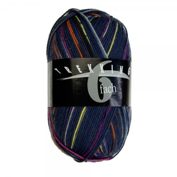 Zitron Wolle der Sorte Trekking-6-fach-Color in der Farbe 1893