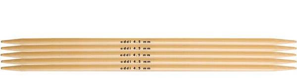 Addi Stricknadel (Strumpfstricknadel 20 cm) aus Bambus