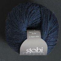 Zitron Wolle der Sorte Gobi in der Farbe dunkelblau