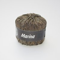 Lana Grossa Wolle der Sorte Marina in der Farbe Braun
