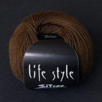 Zitron Wolle der Sorte Lifestyle in der Farbe braun