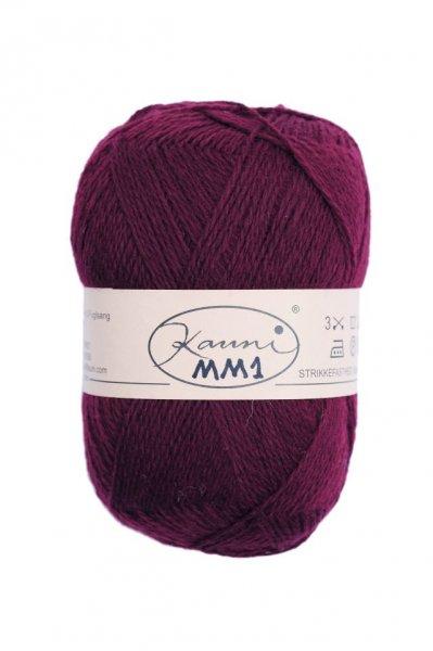 Kauni Wolle der Sorte Einfarbig in der Farbe MM1