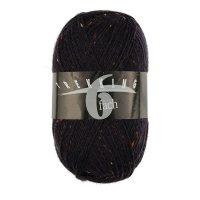 Zitron Wolle der Sorte Trekking-6-fach-Tweed in der Farbe 1878