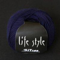 Zitron Wolle der Sorte Lifestyle in der Farbe nachtblau