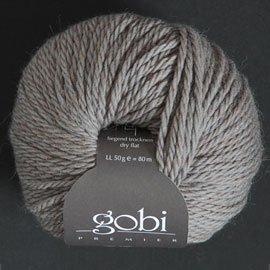 Zitron Wolle der Sorte Gobi in der Farbe hellgrau