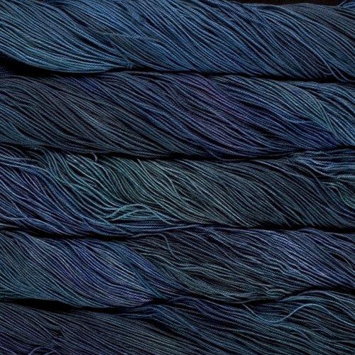 Malabrigo Wolle der Sorte Sock in der Farbe Azules