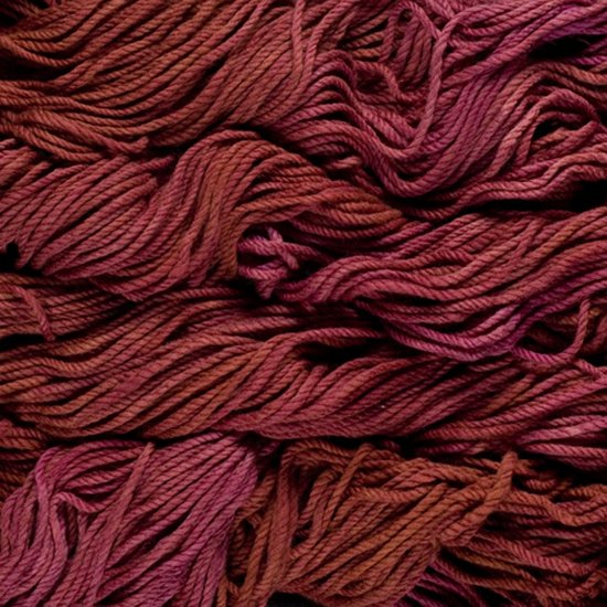 Malabrigo Wolle der Sorte Chunky in der Farbe Pagoda