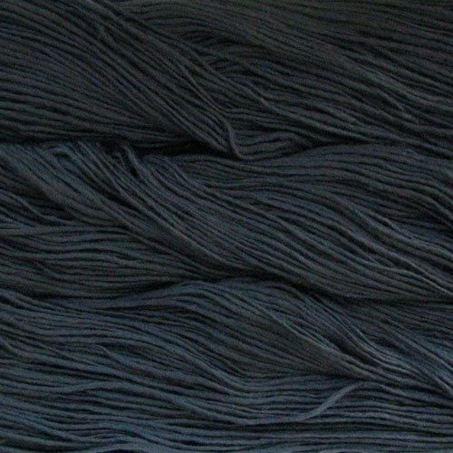 Malabrigo Wolle der Sorte Worsted in der Farbe Blue-Graphite