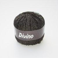 Lana Grossa Wolle der Sorte Divino in der Farbe Dunkelbraun