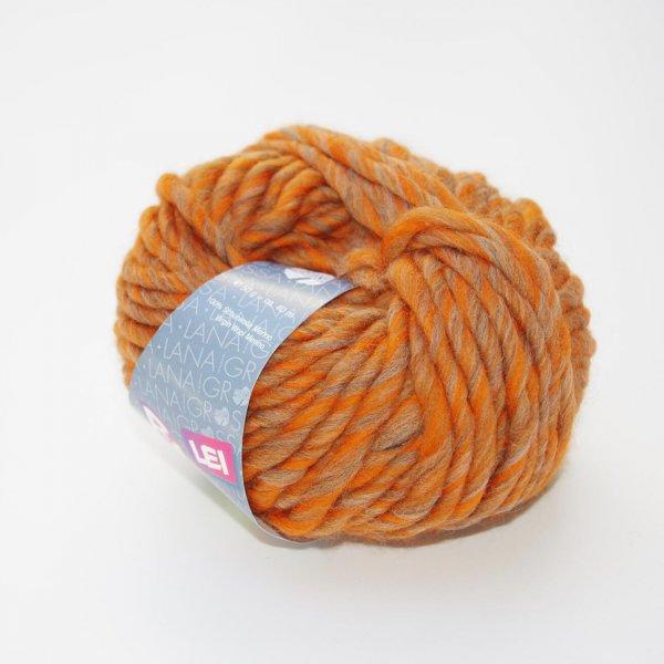 Lana Grossa Wolle der Sorte Ragazza Lei Print in der Farbe Orange