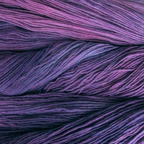Malabrigo Wolle der Sorte Worsted in der Farbe Purple-Mystery