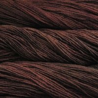 Malabrigo Wolle der Sorte Worsted in der Farbe Marron Oscuro