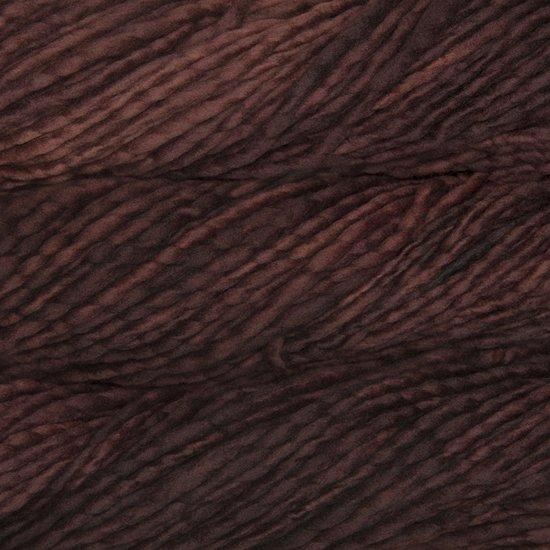 Malabrigo Wolle der Sorte Rasta in der Farbe Belgian Chocolate