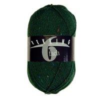 Zitron Wolle der Sorte Trekking-6-fach-Tweed in der Farbe 1860