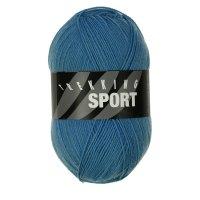Zitron Wolle der Sorte Trekking-Sport in der Farbe Himmelblau (1406)