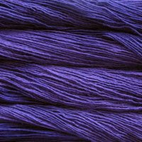 Malabrigo Wolle der Sorte Silky in der Farbe Purple-Mystery