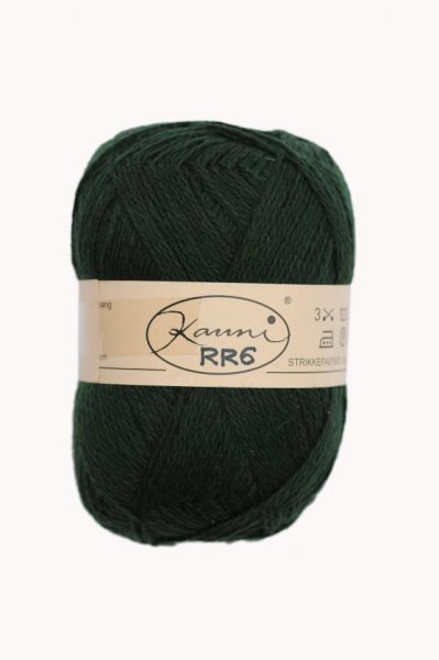 Kauni Wolle der Sorte Einfarbig in der Farbe RR6